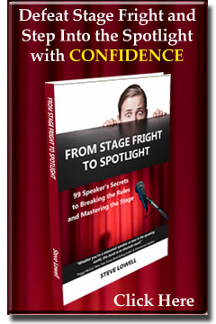 Stage Fright, Public Speaking Skills